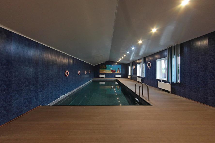 Портфолио - Таунхаус с бассейном 450 кв.м. -  - под КЛЮЧ (профилированный брус)