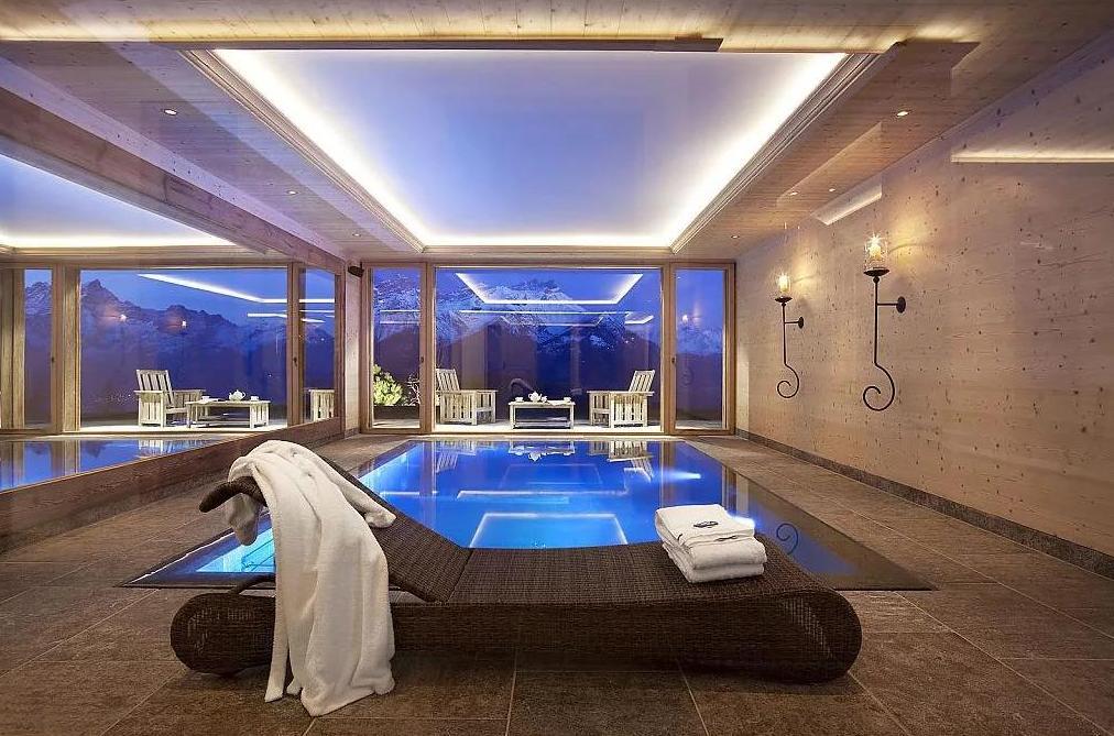 баня с бассейном под ключ