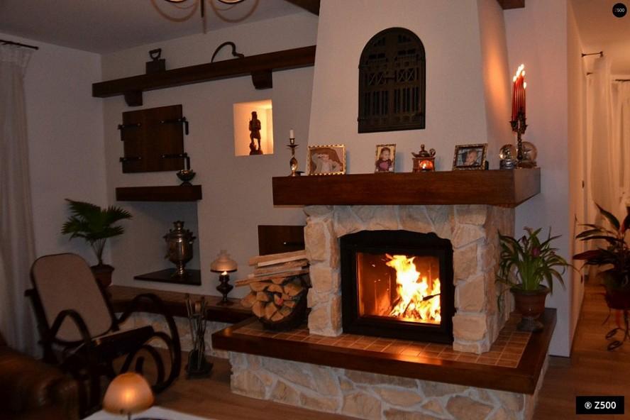 камины для дома дровяные