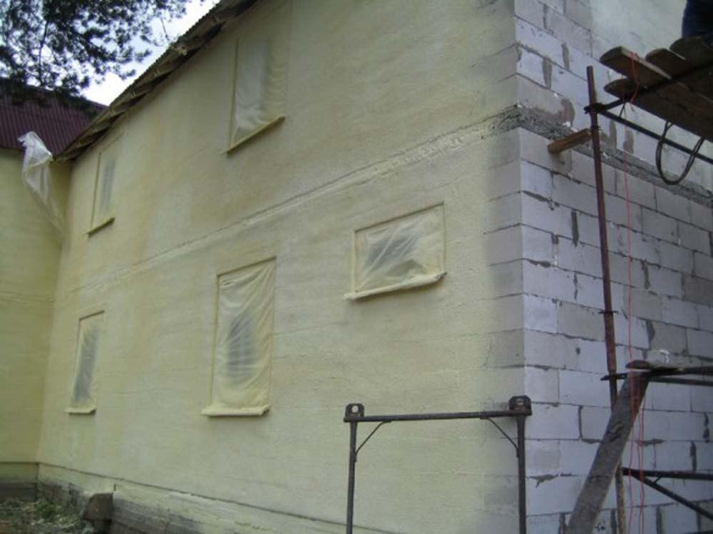 утепление фасада дома сравнение КП, ДСК, СНТ