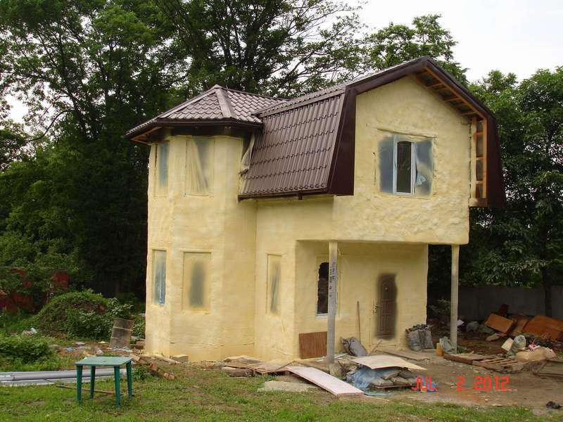 утепление дома цена оформить заказ Птичное (Москва)