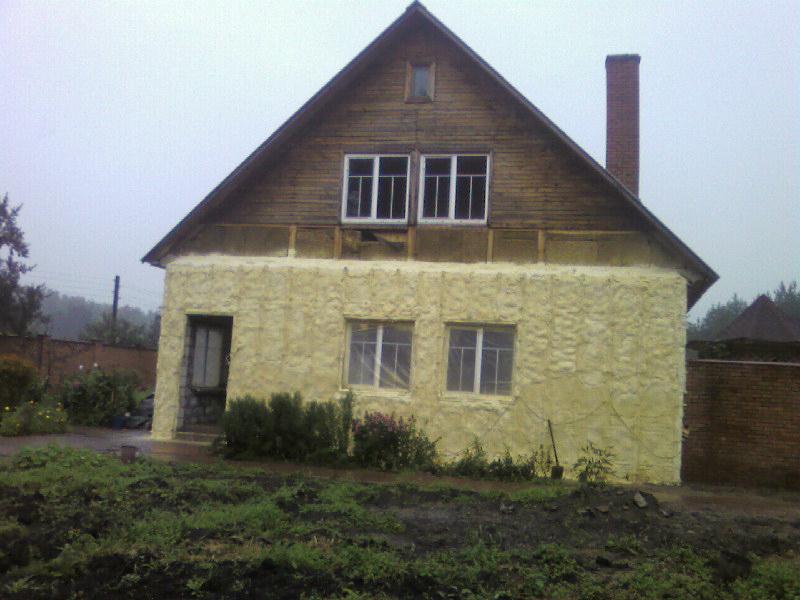утепление фасада дома наличие КП, ДСК, СНТ